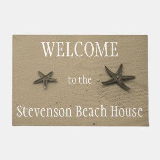 Felpudo Recepción de la casa de playa del verano del