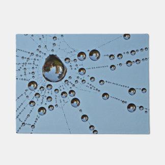 Felpudo Rocío de la mañana en amante de naturaleza del Web