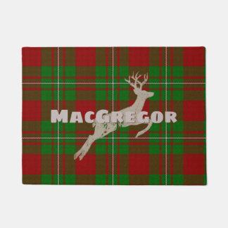 Felpudo Sr. MacGregor Plaid con los ciervos
