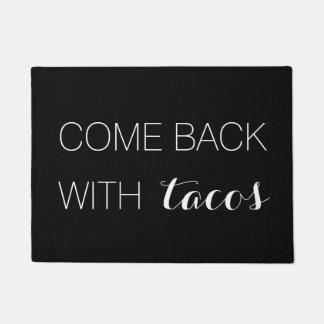Felpudo Vuelto con el Doormat del Tacos