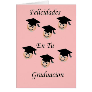 Femenina postal de Graduacion Tarjeta De Felicitación