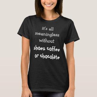 Femenino divertido camiseta