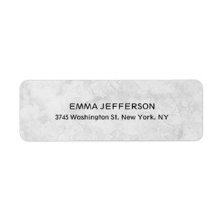 Femenino gris de moda profesional único etiqueta de remite
