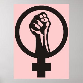Feminismo de Anarcha Póster