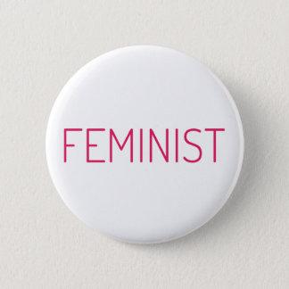 Feminista Chapa Redonda De 5 Cm