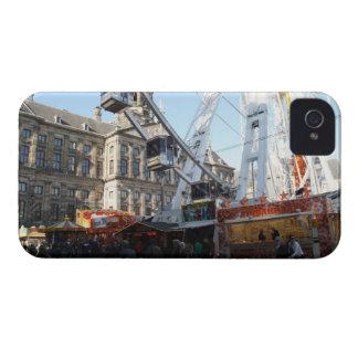 Feria de diversión en Amsterdam iPhone 4 Case-Mate Coberturas