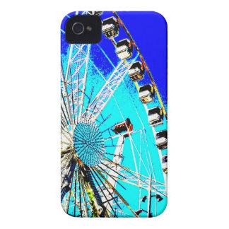 feria de diversión en la noria de Amsterdam y la Carcasa Para iPhone 4 De Case-Mate
