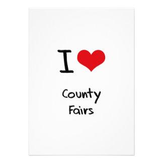 Ferias de I el condado de Love Invitación