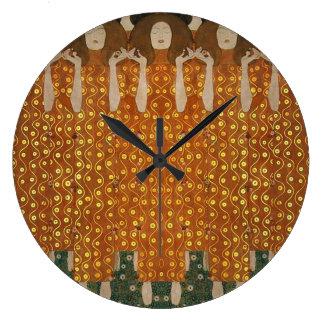 Ferklempt para Klimt Reloj Redondo Grande