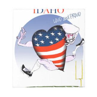 Fernandes tony ruidosos y orgullosos de Idaho, Bloc De Notas