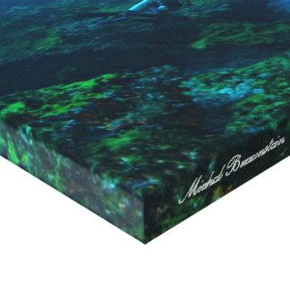 Fernando de Noronha subacuático, el Brasil - lona Impresión En Lienzo