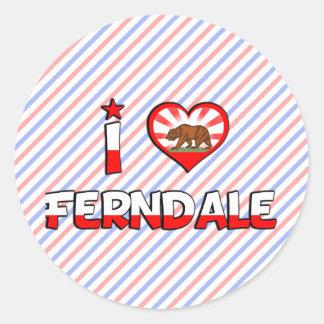 Ferndale CA Pegatinas