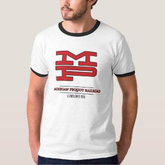 Ferrocarril de Mohegan Pequot - Est. el an o 80 Camiseta