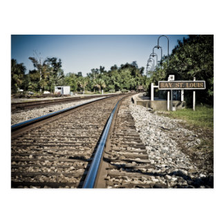 Ferrocarril de St. Louis de la bahía Postal