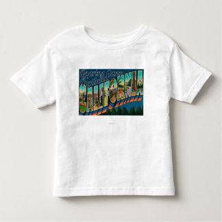 Ferrocarril del campo del rugido, CA - escenas Camiseta De Niño