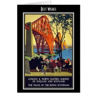 Ferrocarril Escocia de Londres de la tarjeta del