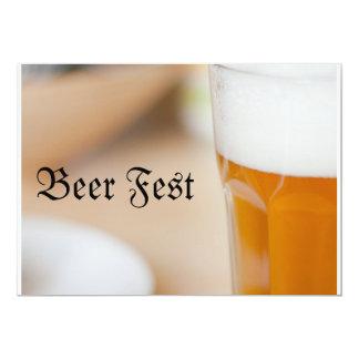 Fest de la cerveza invitación 12,7 x 17,8 cm