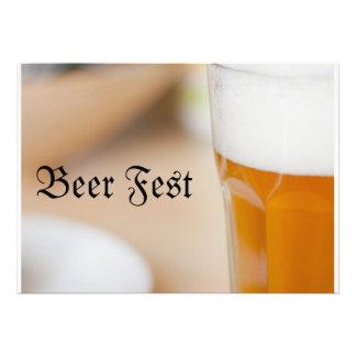 Fest de la cerveza comunicado