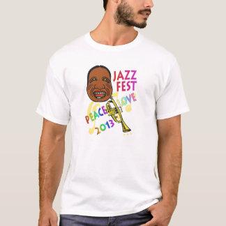 Fest Satchmo 2013 del jazz Camiseta