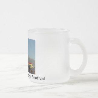 Festival 2011 del globo de Colorado Taza De Café Esmerilada