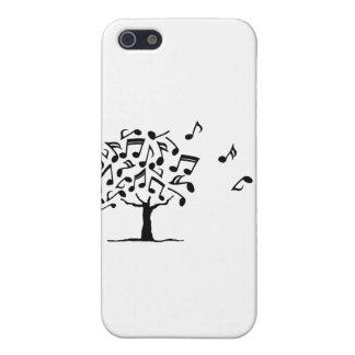 Festival de Grumo blanco y negro iPhone 5 Cárcasa
