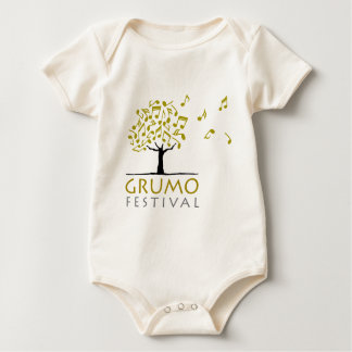Festival de Grumo Body Para Bebé