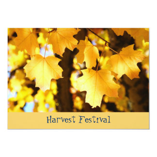 ¡Festival de la cosecha! Escuela de los Invitación 12,7 X 17,8 Cm