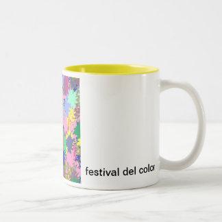 festival del color taza dos tonos