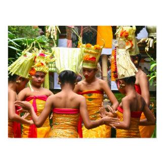 Festival del esmero del templo del Balinese Postal