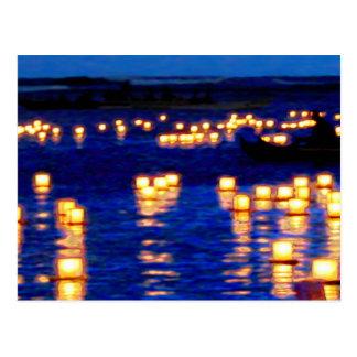 Festival flotante de la linterna postal