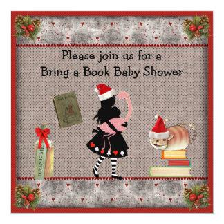 Festivo traiga un libro Alicia y la fiesta de Invitación 13,3 Cm X 13,3cm