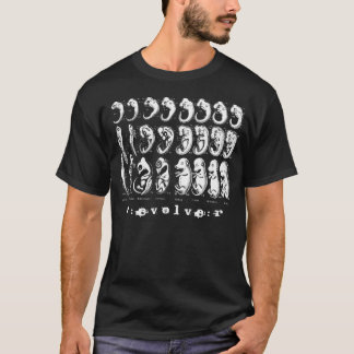 feto, r: e v o l v e: r camiseta