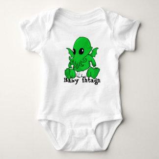 Fhtagn del bebé camisetas