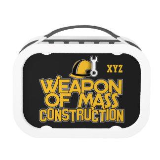 Fiambrera total del personalizado de la construcci