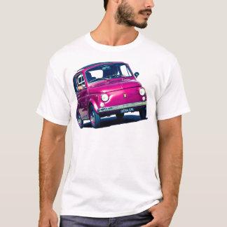 Fiat 500 en Roma, camiseta, Cinqucento clásico Camiseta