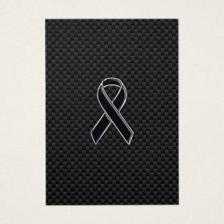 Fibra de carbono de la conciencia de la cinta del tarjeta de negocios
