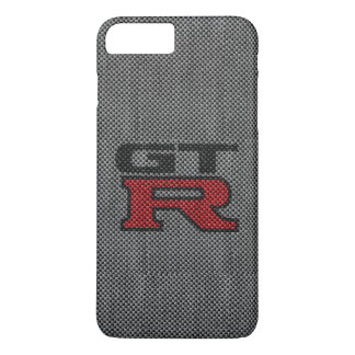 Fibra de carbono Nissan GT-R Funda Para iPhone 8 Plus/7 Plus