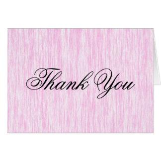 Fibra rosada tarjeta pequeña