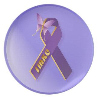 Fibromyalgia-Mi placa constante del compañero Plato De Cena