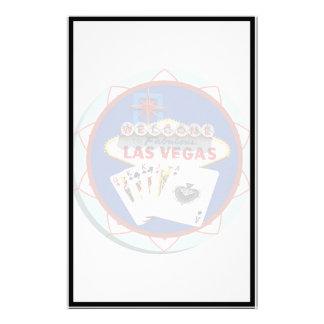 Ficha de póker azul del signo positivo de Las Vega Papeleria De Diseño