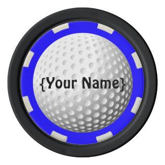 Ficha de póker del observador de tiro de la pelota juego de fichas de póquer