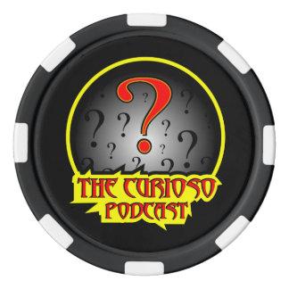 Ficha de póker del podcast de Curioso Juego De Fichas De Póquer