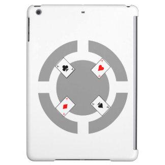 Ficha de póker - gris