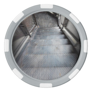 Fichas de póker de acero de la escalera