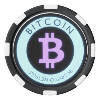 ¡Fichas de póker de Bitcoin! Fichas De Póquer
