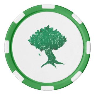 Fichas de póker de la arcilla de DAoC Hibernia,
