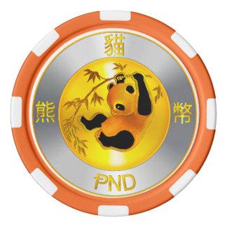 Fichas de póker de Pandacoin PND