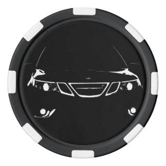 Fichas de póker de Saab