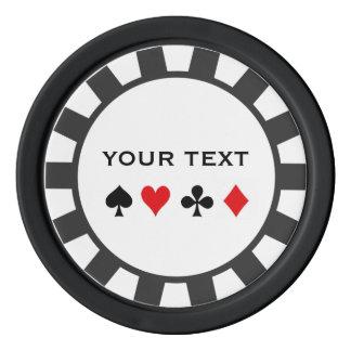 Fichas de póker personalizadas fichas de póquer