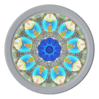 Fichas De Póquer El arco iris Eggs fractal